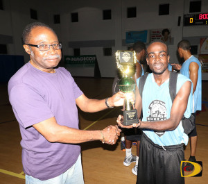 Splash Brothers' Shamoi Dagou was the Eastern Division MVP of the Hon Julian Fraser Save the Seed Basketball League