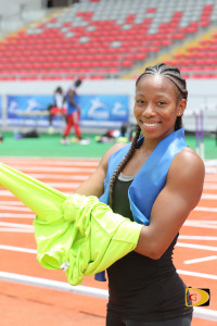 Ashley Kelly becomes the just the 2nd IAAF World Indoor Championships qualifier for BVI joining Tahesia Harrigan-Scott.
