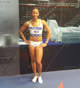 Ashley Kelly is having the best indoor season of her career, with personal bests in the 60, 200 & 400m respectively