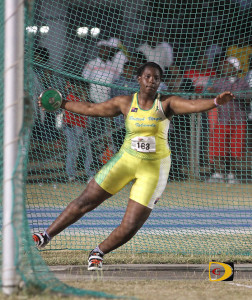 Central Arizona sophomore Tynelle Gumbs, won three of four events a the Region I Championships