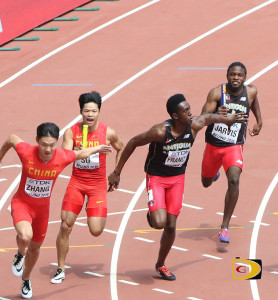 Miguel Francis, the second fastest 200m in the world with 19.88 seconds this season, will anchor Antigua & Barbuda 4x100m Relay in a battle with St. Kitts-Nevis on Saturday night
