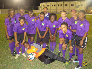 Ball Starz won the BVI Football Association Women's League title for the third time in four years
