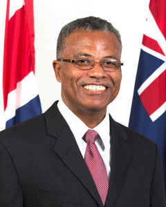 District Representative, Dr. the Hon. Hubert O'Neal