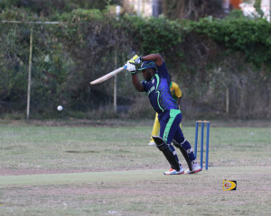 Cavaliers' Drumor Toney, makes a defensive play against Grenada, before being caught out for 34