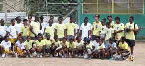Ebenezer Thomas, Willard Wheatley and Enis Adams Primary Schools Softball Teams