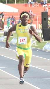 Rikkoi Brathwaite, who recently improved his 100m BVI Jr. Record to 10.43 seconds, anchored the territory's first sub 40 seconds 4x100m Relay team to 39.78 seconds in Trinidad on June 25