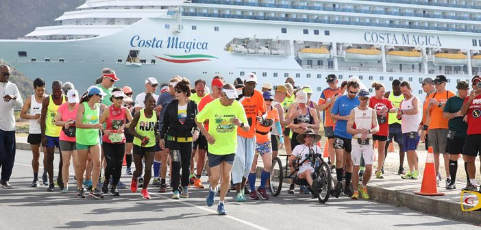 Local Runners Join 43 Visitors in First Marathon in the BVI