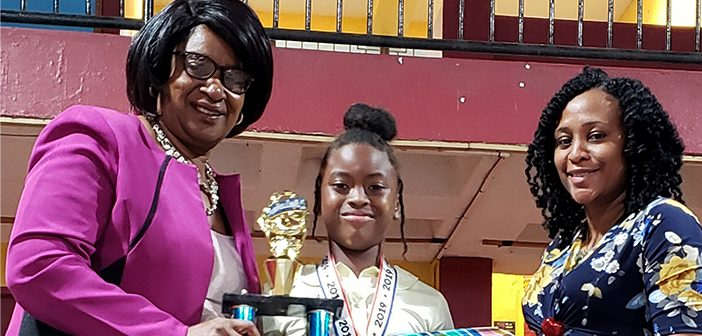 Talisa Toussaint Is The 2019 Inter Primary Spelling BEE Champion