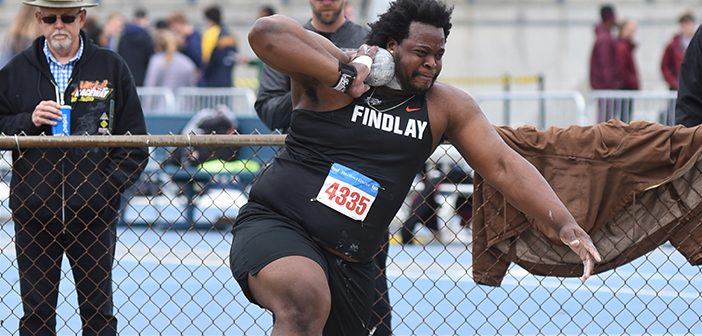 Eldred Henry Destroys NCAA Division II Shot Put Record