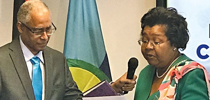 Dancia Penn, Qc, Sworn in as Caricom Administrative Tribunal Judge