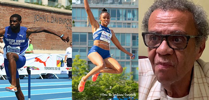 McMaster, Malone head BVI Top 30 athletes in last 50 years